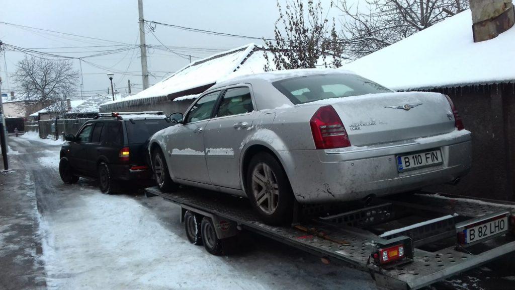 Tractare auto cu platforma Bucuresti